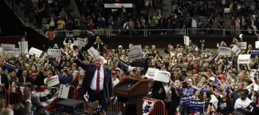 Trump Smashes Record in Arkansas – You Need to See This