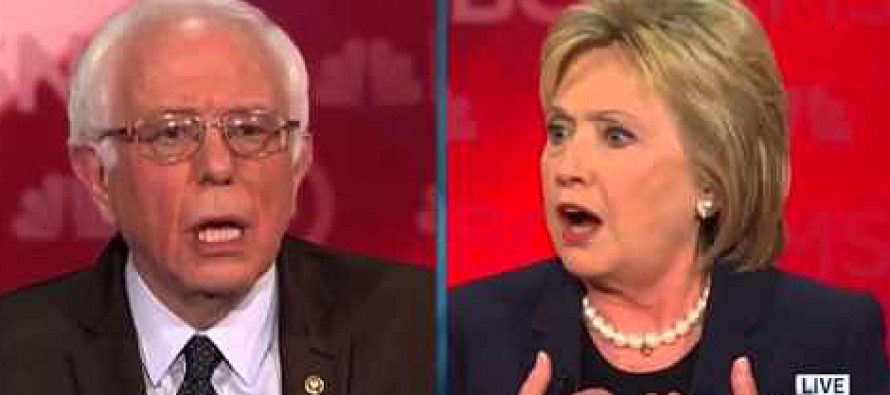Hillary Comes UNHINGED – Loses It On Debate Stage After Bernie Says THIS!
