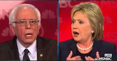 Bernie Hillary Boos