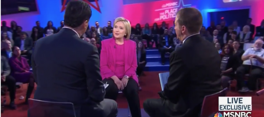 OUCH! Hillary Clinton DESTROYED By Audience at MSNBC Town Hall – Listen Closely…