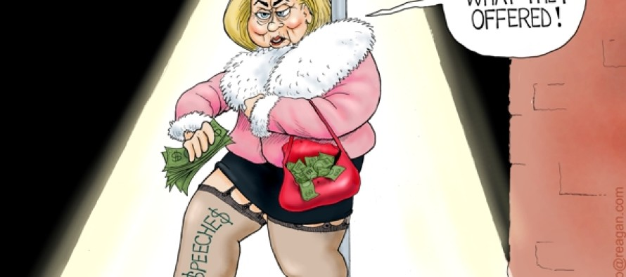 Hillary Does Wall Street (Cartoon)