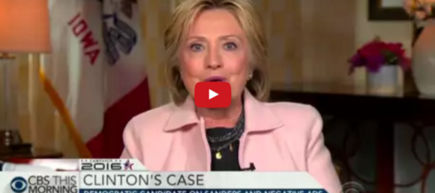 Watch a Reporter LAUGH in Hillary's Face
