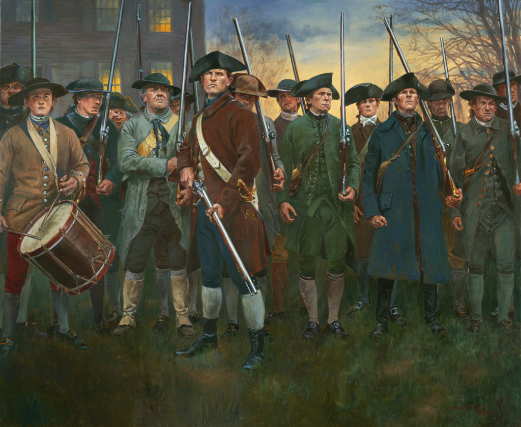 LexingtonCommon19thofApril1775