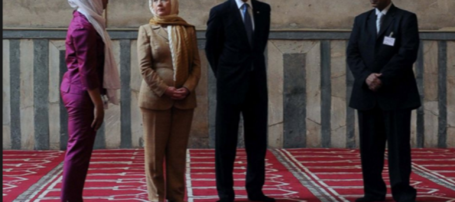 Obama Disrespects Christianity During Visit to Mosque