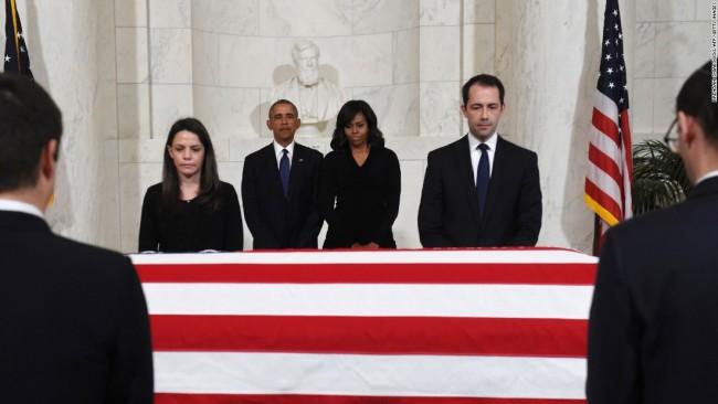 Obama Scalia