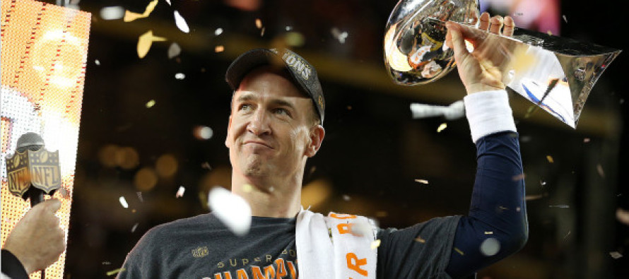 Here's What Peyton Manning Did Immediately After the Super Bowl