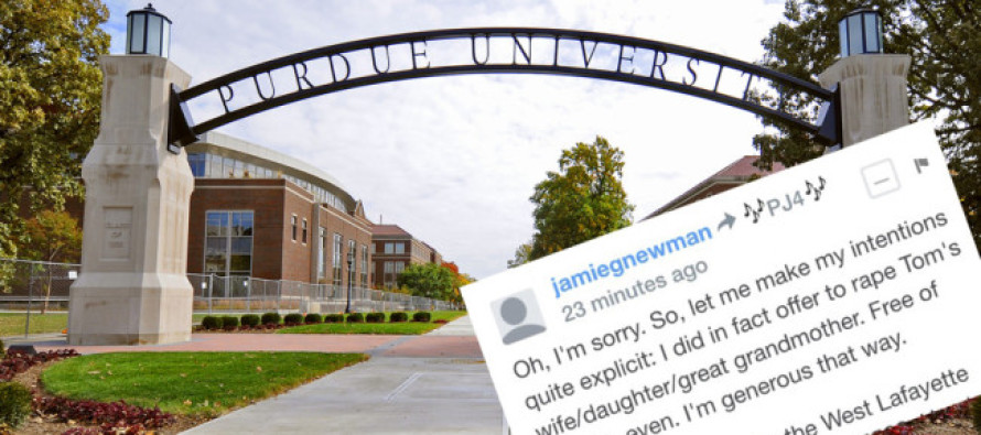 Liberal College Staffer Threatens To RAPE Pro-Life Students- Gets NASTY Surprise!