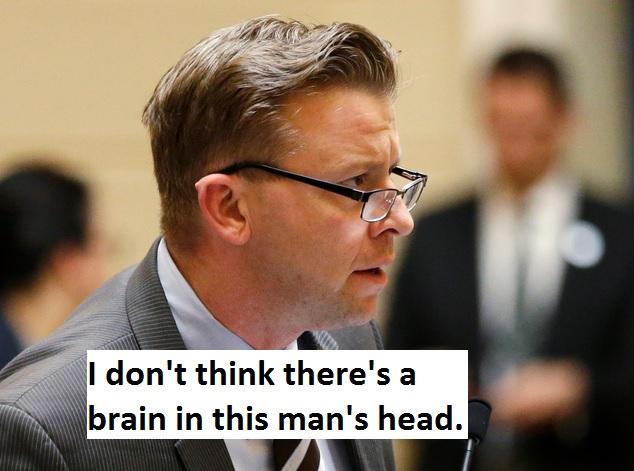 Republican Sen. Todd Weiler