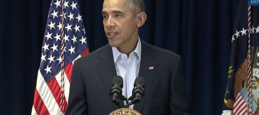 Watch Closely: People Noticed THIS During Obama's Speech About Scalia
