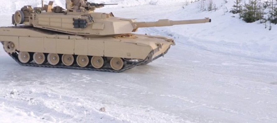 Video: Forget 'Fast And The Furious' Because The US Military Shows You How To Drift….In A TANK