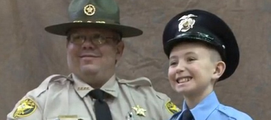 Boy, 10, Raises $10K, Hosts Ceremony Thanking Police Officers Rather Than Have A Birthday Party