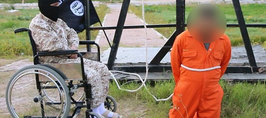 Wheelchair Executioner: Disabled ISIS Killer Crucifies Man They Suspected Of Murder