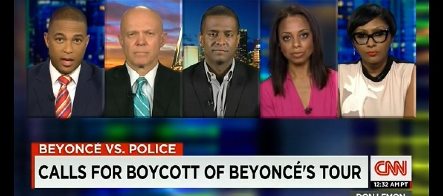 CNN Panel's ONLY White Guest Calls Beyonce RACIST- Leaves Others Speechless, Then THIS Happens…