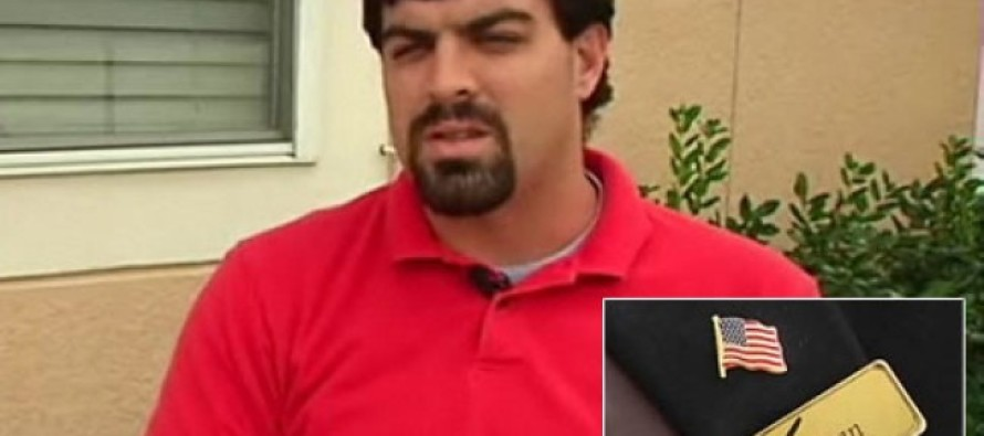Man Fired for Refusing to Take Off His American Flag Pin… Then THIS Happens