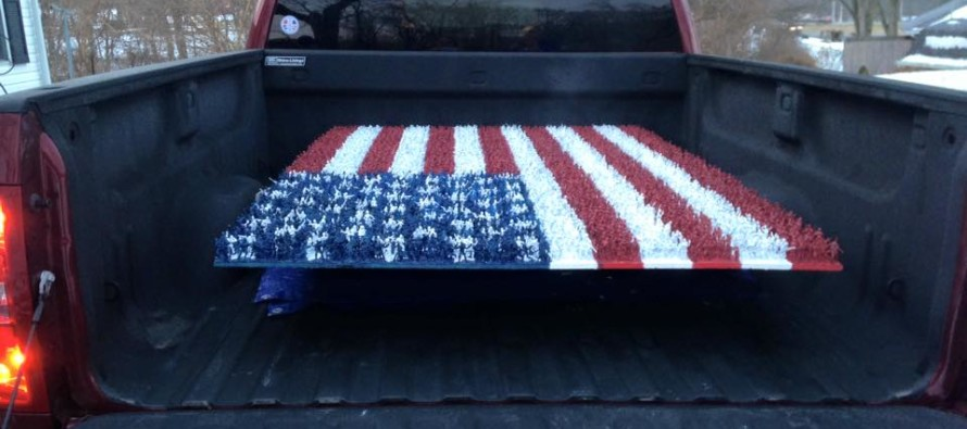 Teen Wanted to Show Patriotism Through Class Project. But Look Closer…