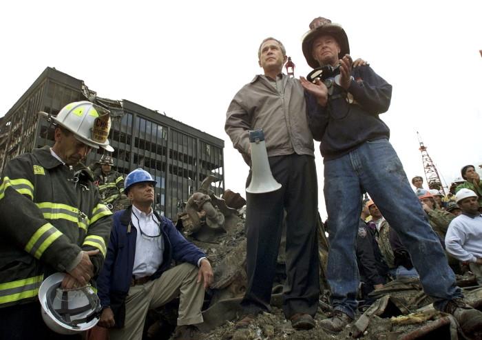 Bush at WTC