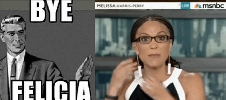 Race Baiting Melissa Harris-Perry officially let go from MSNBC