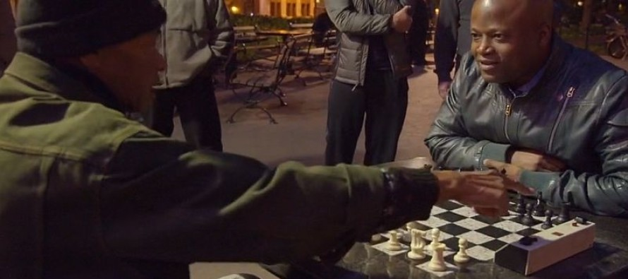 Video: Trashtalking chess player thinks he can't be beat until a chess grandmaster sits down