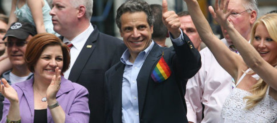 Ultra Liberal NY Gov. Andrew Cuomo enacts new regulations preventing conversion therapy for Gays is nakedly about money in Democrat coffers
