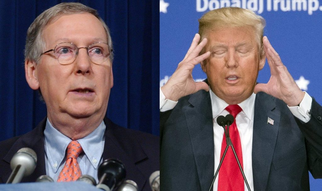 donald trump and mcconnell mitch