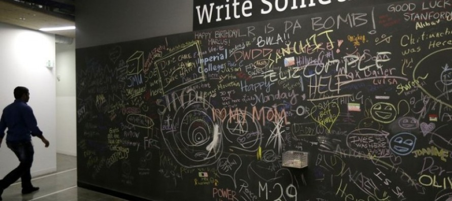 Mark Zuckerberg Begs Facebook Employees To Stop Defacing Black Lives Matter Comments On Company Chalkboard