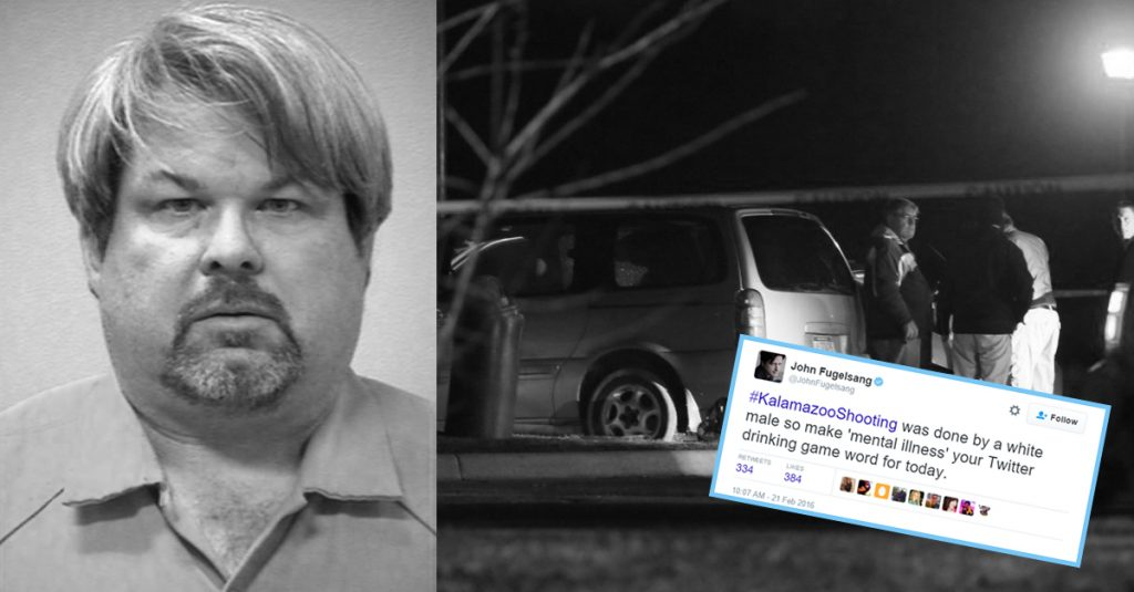 kalamazoo killer is not terrorist