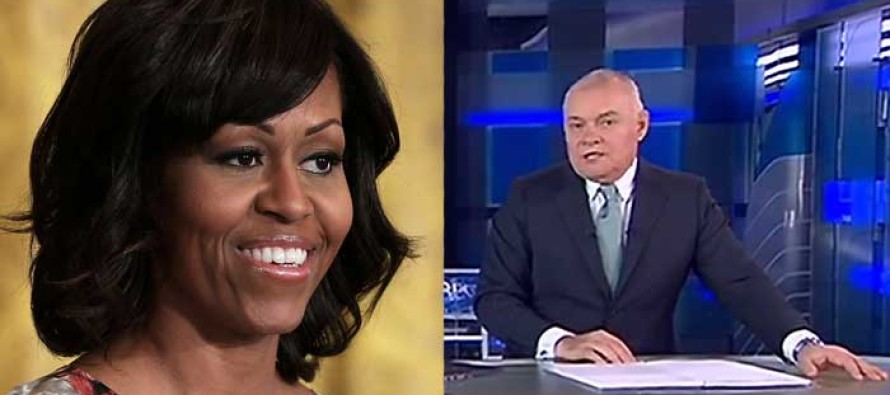 Russian TV Hosts Just Made Michelle Obama's Head Spin When They Said THIS About Her!