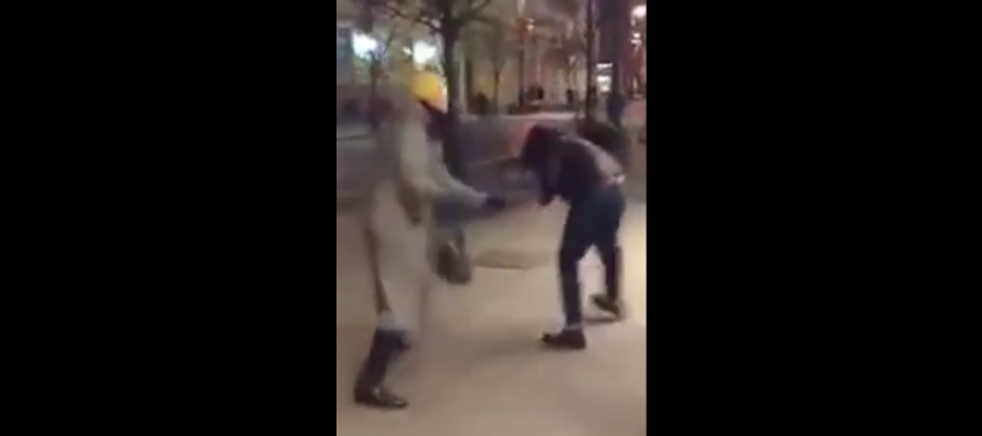 Hunted Becomes The Hunter: German Woman Fed Up With Muslim's Sexual Harassment DOES THIS!