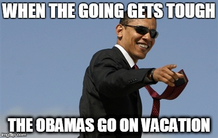 obama vacations
