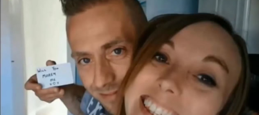 VIDEO: Man Secretly Proposes To Girlfriend Every Day For 5 Months