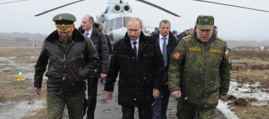 Putin Scrambles Troops and Warplanes Across Russia in Large-Scale Military Drills Amid Tensions With the West
