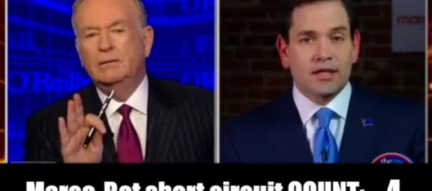 Rubios Campaign Might be OVER After He Repeats Himself 8 TIMES on O'Reilly [VIDEO]