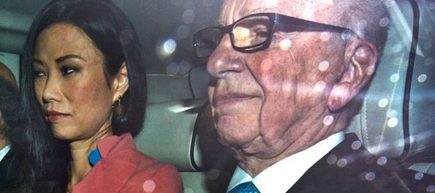 Guess Which World Leader ad an Affair With the Wife of Fox's Rupert Murdoch?