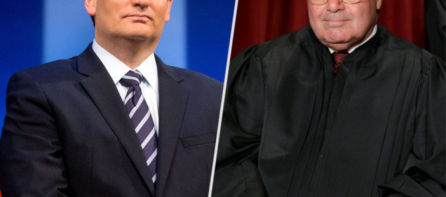 Ted Cruz says he will DEFINITELY filibuster any nominee for the Supreme Court by Obama