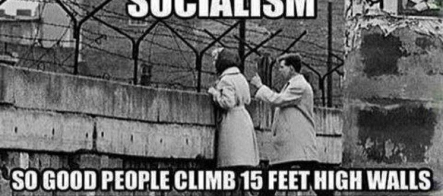 The Next Time A Liberal Says 'Socialism,' Show Them THIS!