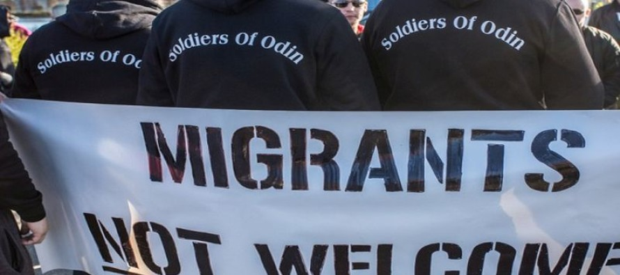 """""""Soldiers of Odin"""" Show Up and Let Refugees Know Who Is In Charge!"""