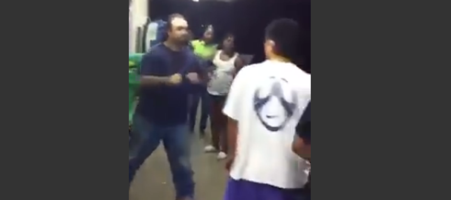 Watch Four Thugs Get Exactly What They Deserve