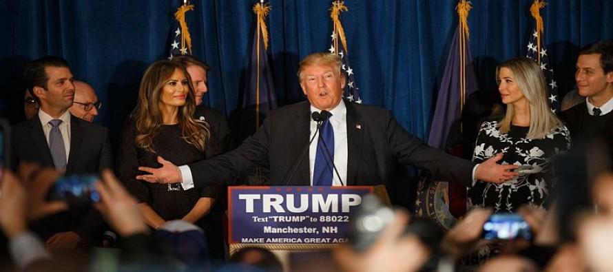 GOP Establishment Proven Wrong Again: Trump Wins New Hampshire