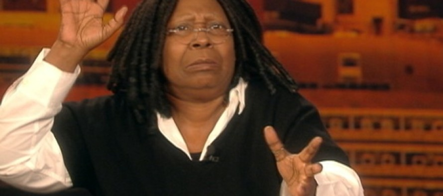 Race Baiting Host on 'The View' Weighs In on Justice Scalia Controversy – Then Whoopi Walks Off Stage