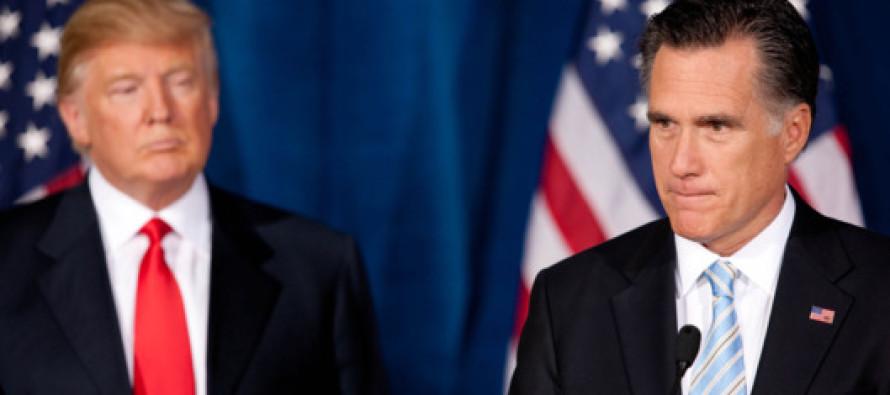 Mitt Romney Gets BAD News After Slamming Trump