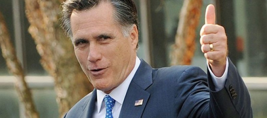 Mitt Romney Says He's Voting For….
