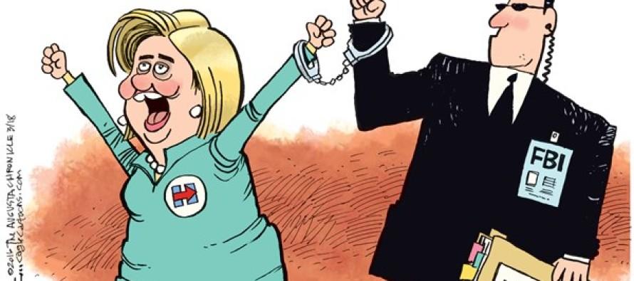 Hillary Running Mate (Cartoon)