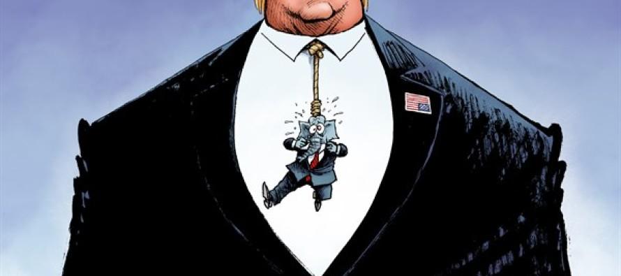 Trump Tie (Cartoon)