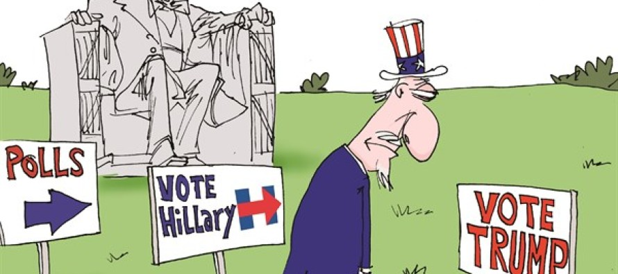 Illinois Primary Shame LOCAL-IL (Cartoon)