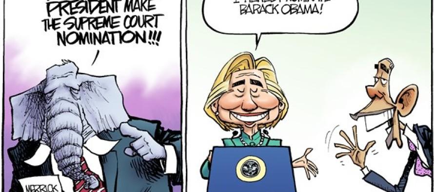 GOP Justice (Cartoon)