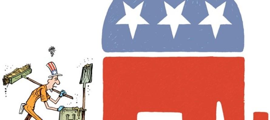 GOP Debate Mess (Cartoon)