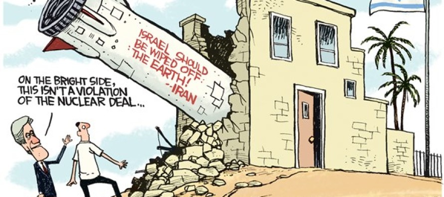 Iran Missiles (Cartoon)