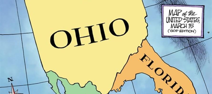 Political Map (Cartoon)