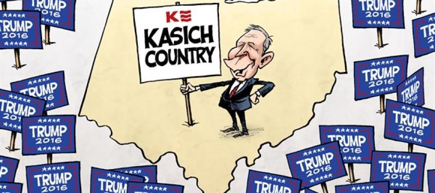 Ohio Primary (Cartoon)