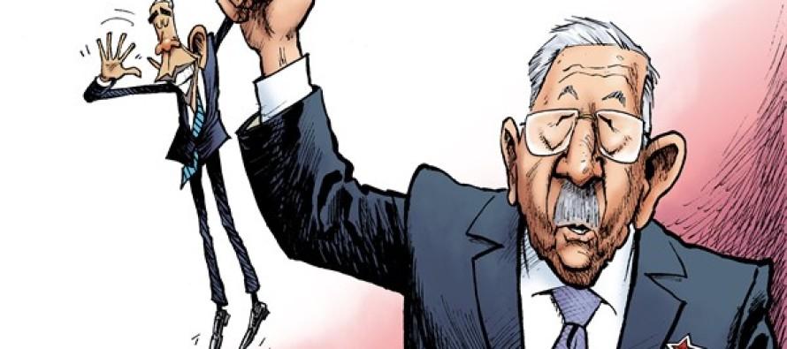Obama in Cuba (Cartoon)